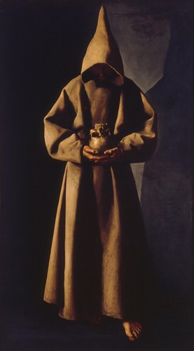 Francisco de Zurbarán, Saint Francis of Assisi in His Tomb, ca. 1630/34. Purchase M1958.70. Photo credit John Nienhuis, Dedra Walls
