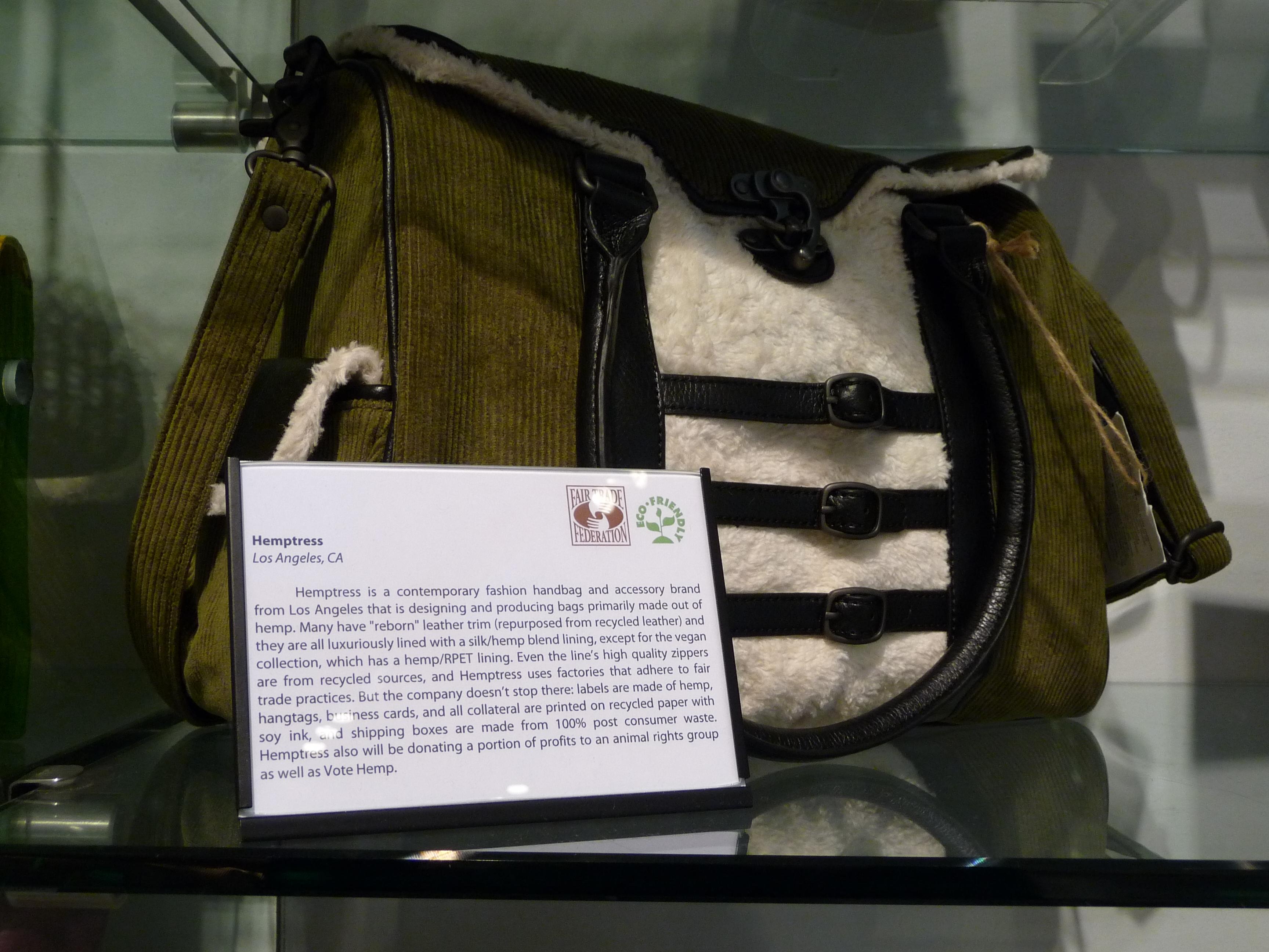 Hemptress Bag