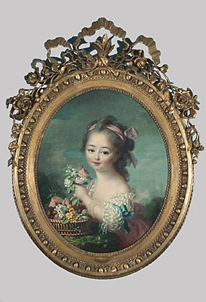 Charlotte-Françoise DeBure PAINTINGS Lusurier, Catherine French, 1752-1781 1776 Oil on canvas H. 29 1/2 x 24 in. Bequest of Arthur & Noryne Riebs (M1959.80)