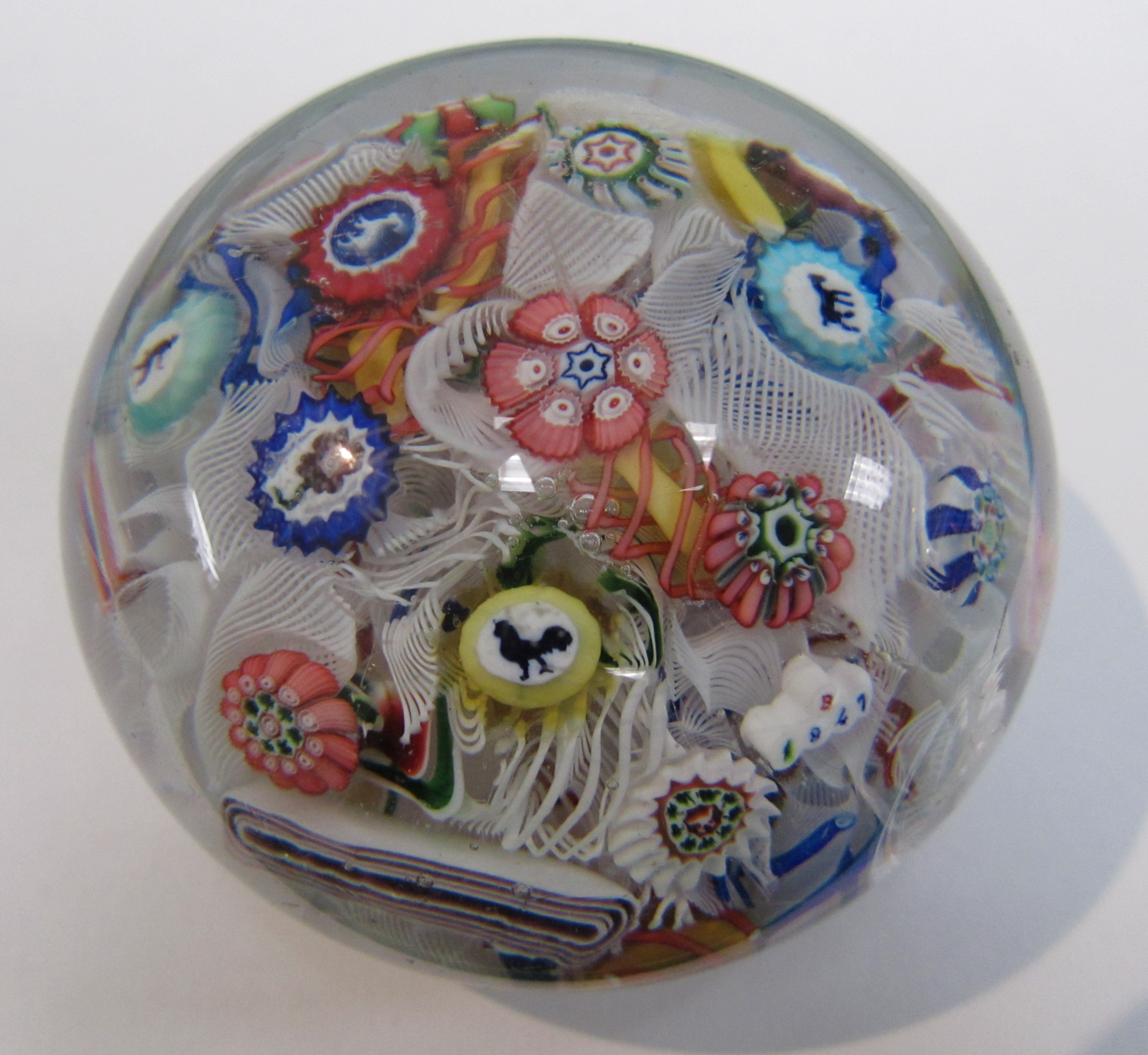 Baccarat paperweight M1996.68