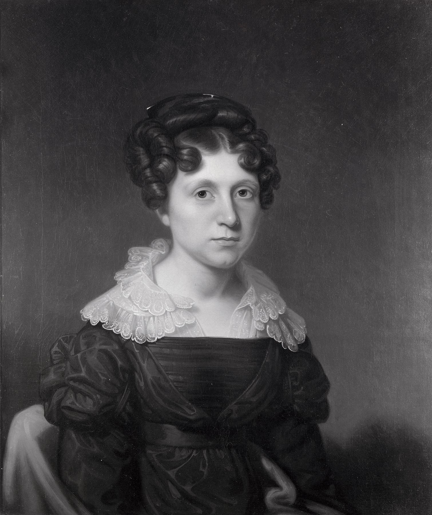 Rembrandt Peale (American, 1778-1860) Portrait of Miss Knapp, ca. 1820 Oil on canvas; 30 3/16 x 25 1/8 in. Milwaukee Art Museum, Gift of Mr. and Mrs. Maurice W. Berger, M1961.56 Photo by P. Richard Eels