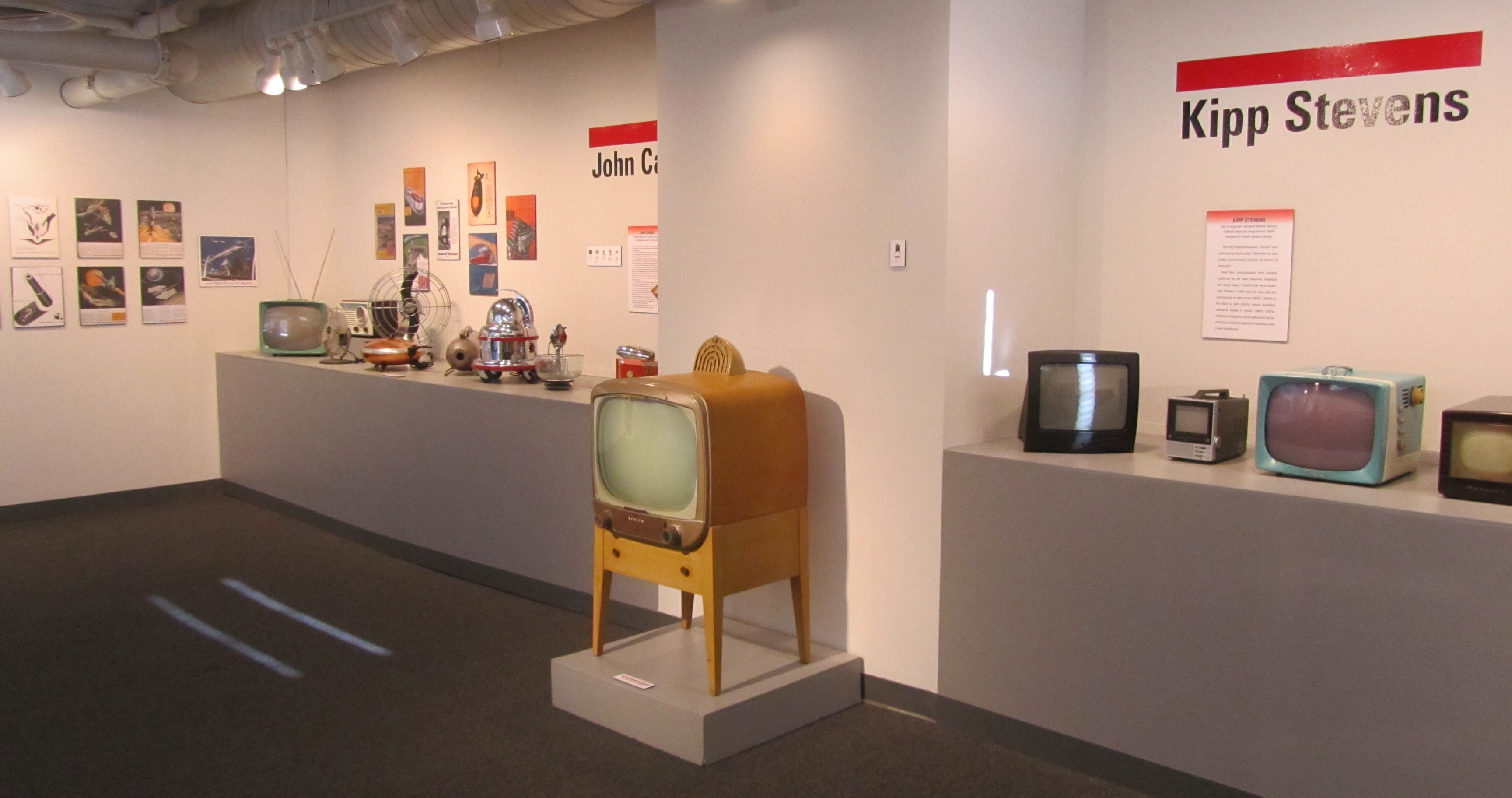 """Installation shot, MIAD's """"Style, Innovation, & Vision: Six Perspectives of a Design Collection"""" exhibition. Photo by the author."""