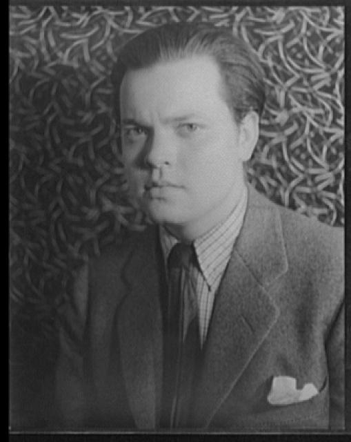 Orson Welles.  Library of Congress, Prints & Photographs Division, Carl Van Vechten Collection. Reproduction number, e.g., LC-USZ62-54231