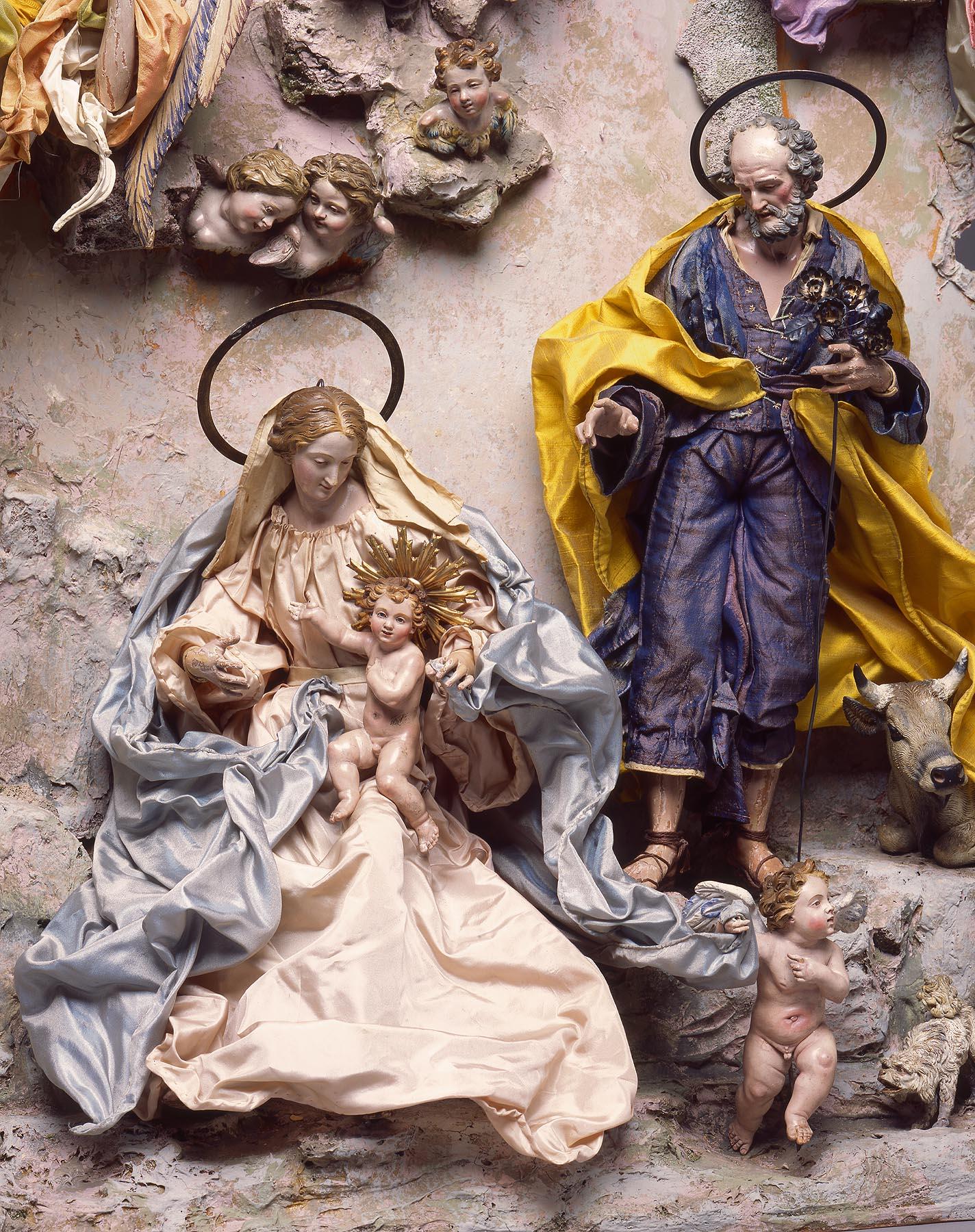 Naples Italy, Crèche (detail), mid-1700s. Milwaukee Art Museum, Gift of Loretta Howard Sturgis. Photo by John R. Glembin.
