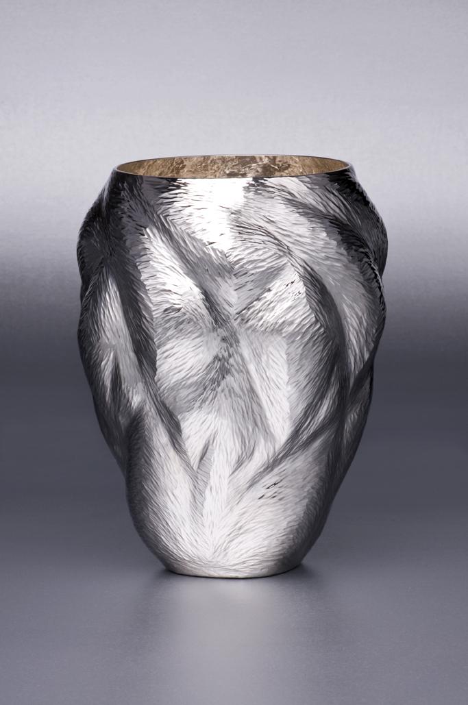 Ndidi Ekubia, Connection Vase, 2011. Photo by Stephen Brayne