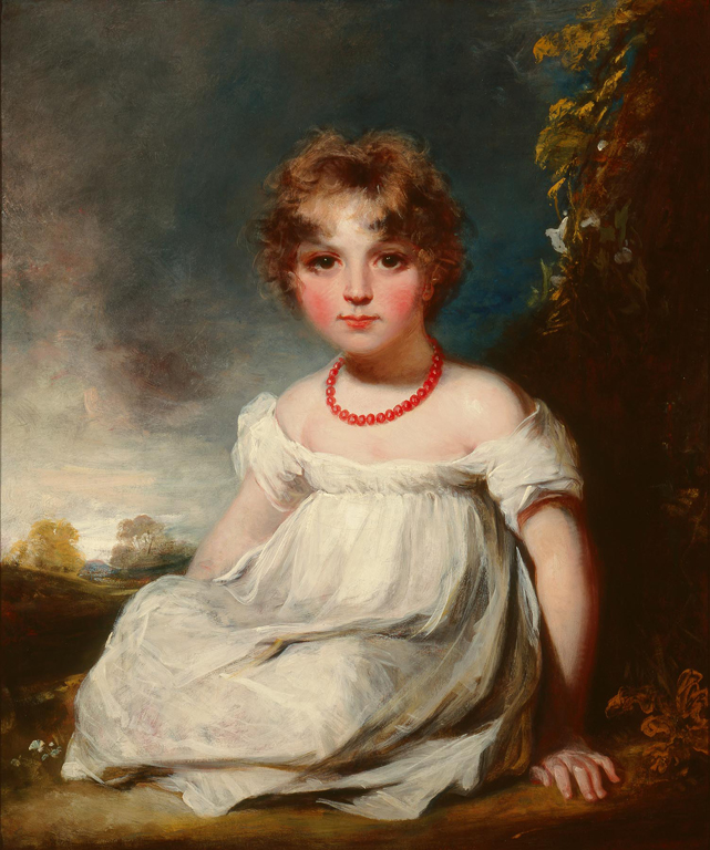 John Hoppner (English, 1758–1810), Portrait of Jane Emma Orde, ca. 1806. Oil on canvas; 30 1/8 x 25 7/16 in. (76.52 x 64.61 cm). Milwaukee Art Museum, Bequest of Josephine S. McGeoch in Memory of her husband, Gordon McGeoch M1983.197 Photo credit John R. Glembin