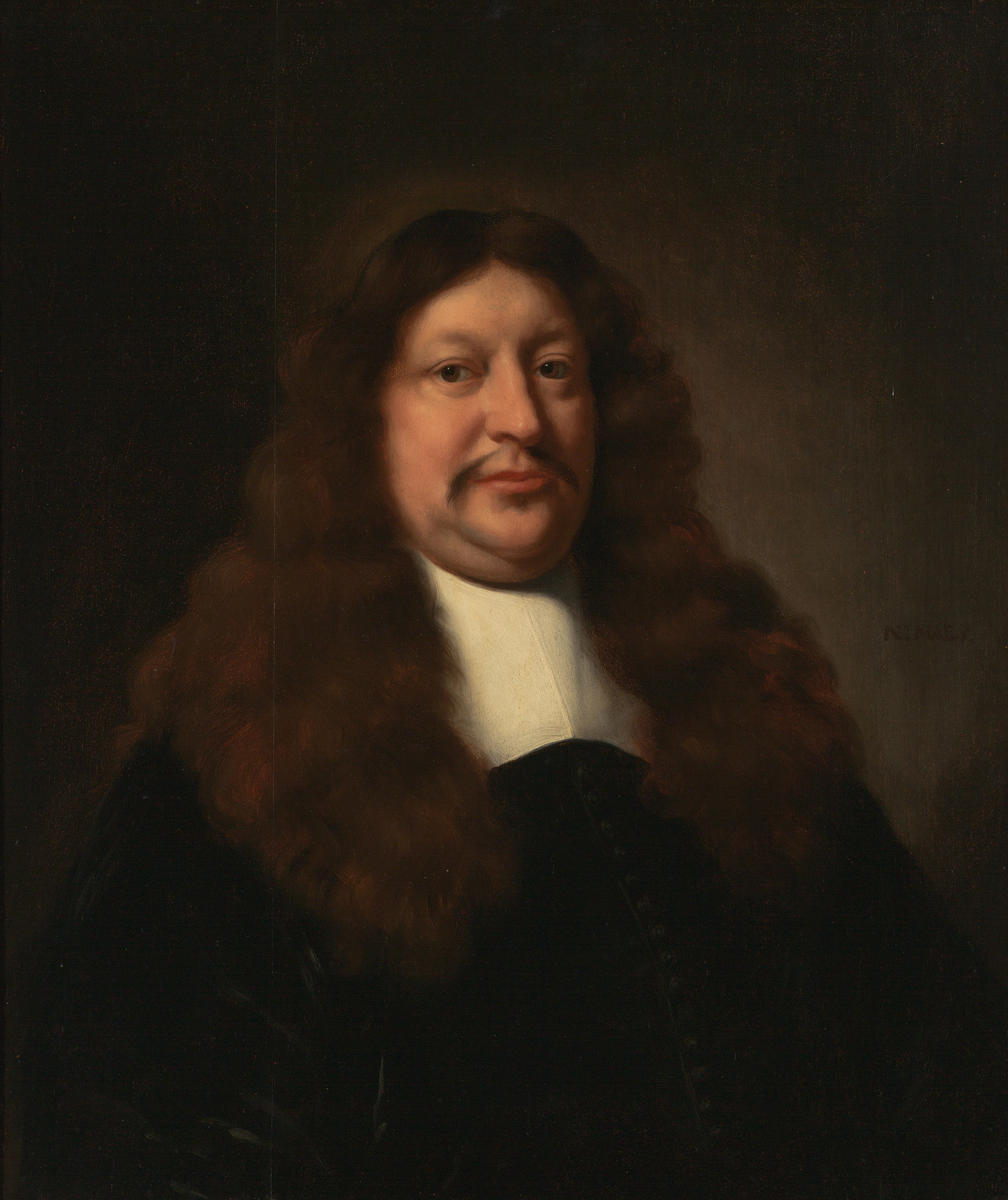 Nicolaes Maes, Portrait of Jan van Royen, ca. 1665. Oil on wood panel. Milwaukee Art Museum, Gift of Dr. and Mrs. Alfred Bader. Photo credit John R. Glembin