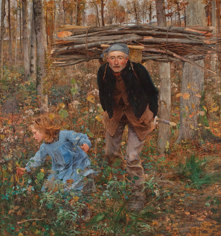 Jules Bastien-Lepage, Le Père Jacques (Woodgatherer), 1881. Oil on canvas. Layton Art Collection, Gift of Mrs. E. P. Allis and her daughters in memory of Edward Phelps Allis. Photo credit John R. Glembin