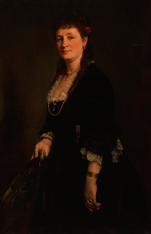 Heinrich von Angeli (Austrian, 1840–1925). Portrait of Mrs. Christian Wahl, 1873. Oil on canvas. Milwaukee Art Museum, Layton Art Collection, Gift of Mrs. Lucius Nieman. Photo credit John R. Glembin