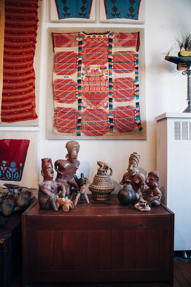 Collection in Living Room. Photo by Megan Yanz Photography