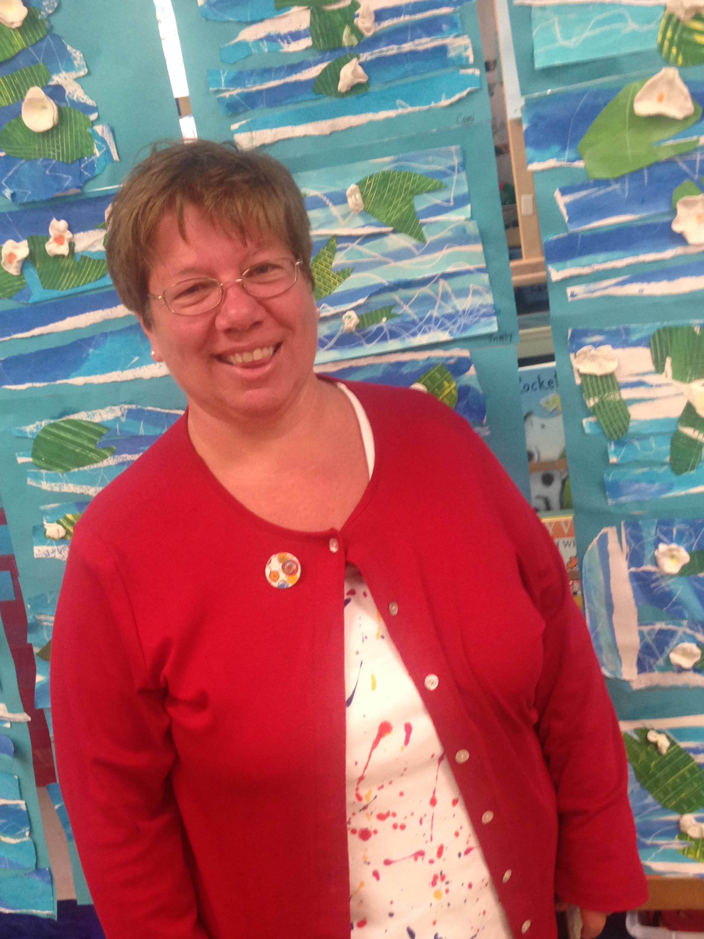 Ms. Sue Gaudynski, Lincoln Elementary. Photo by Laci Coppins
