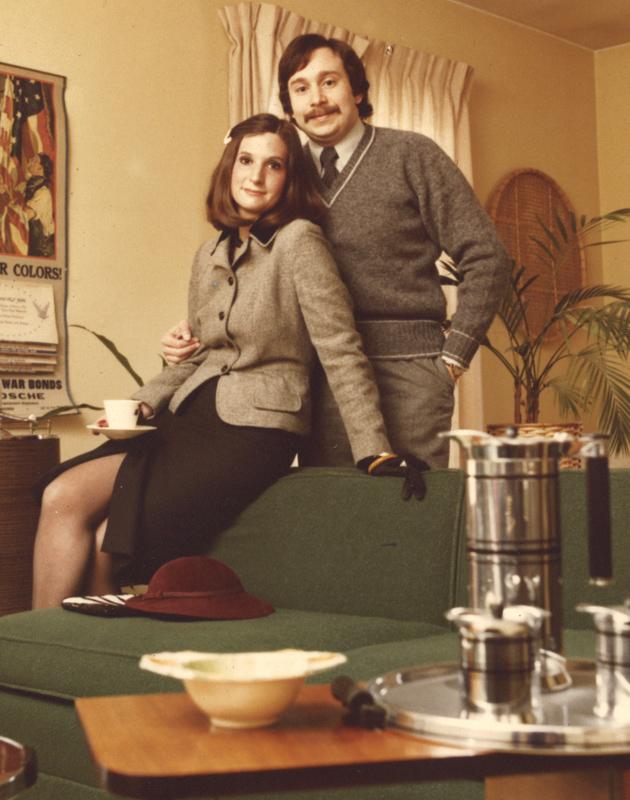 Vintage Photograph: Jody and Dick Goisman