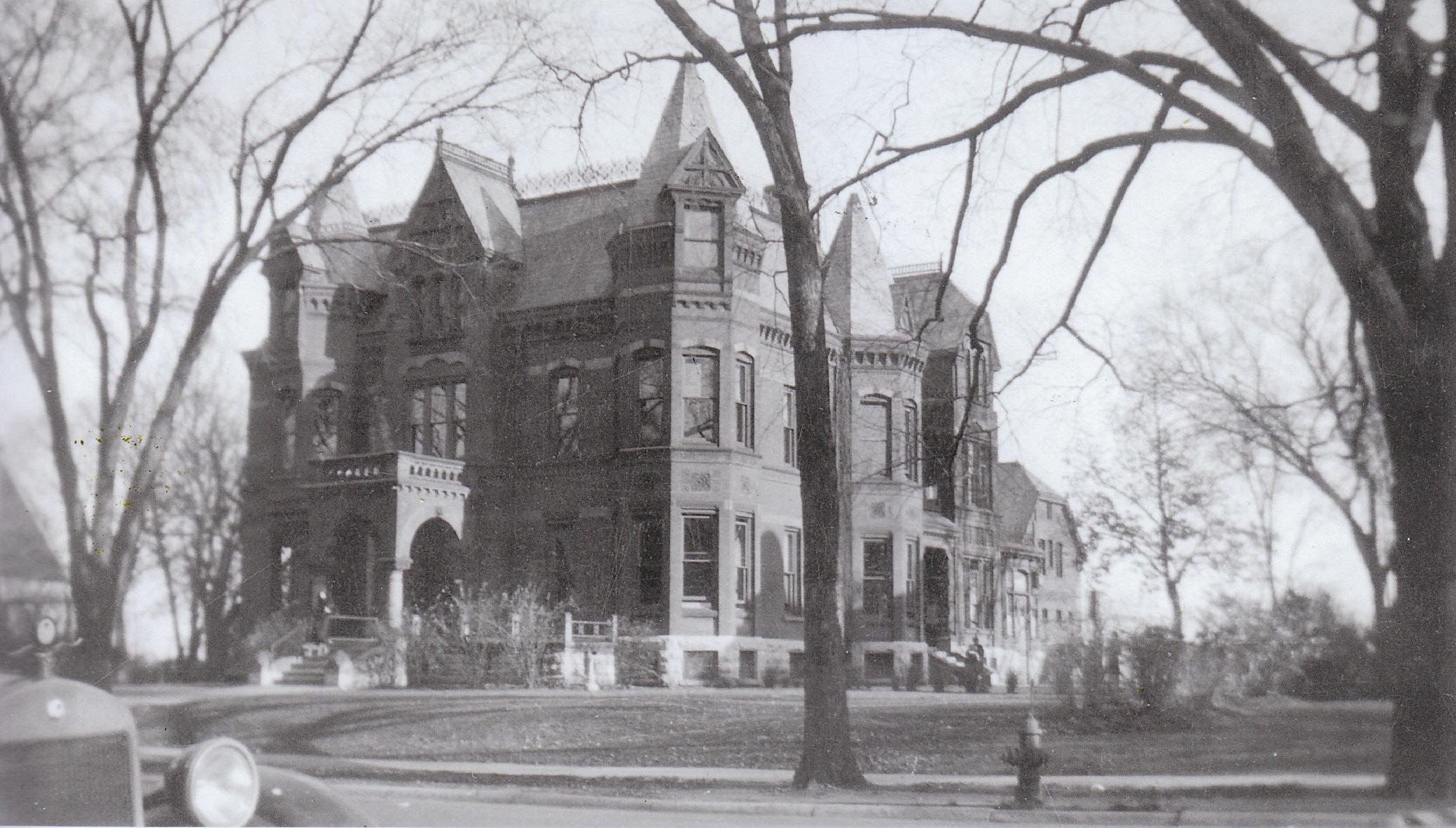 Pillsbury Mansion, Milwaukee. Courtesy of the Milwaukee County Historical Society