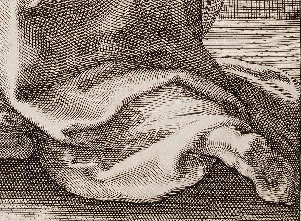 Closeup of a foot