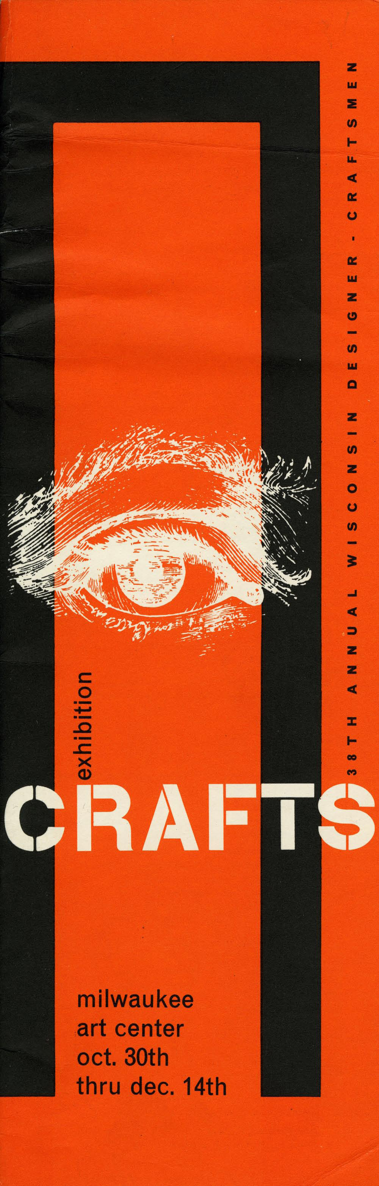 John J. Reiss, exhibition catalogue, 38th Wisconsin Designer Craftsman Exhibition, 1958
